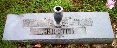 GRIFFITH, WAYNE  E. - Boone County, Arkansas | WAYNE  E. GRIFFITH - Arkansas Gravestone Photos