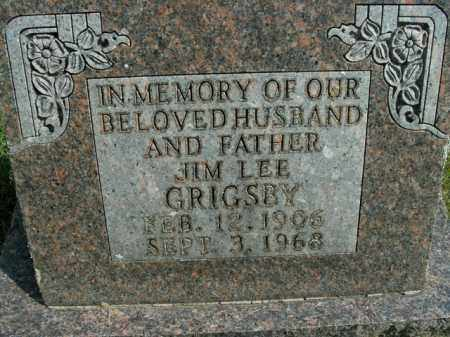 GRIGSBY, JIM LEE - Boone County, Arkansas | JIM LEE GRIGSBY - Arkansas Gravestone Photos