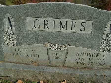 GRIMES, ANDREW E. - Boone County, Arkansas | ANDREW E. GRIMES - Arkansas Gravestone Photos