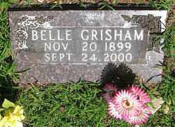 GRISHAM, NANNIE BELLE - Boone County, Arkansas | NANNIE BELLE GRISHAM - Arkansas Gravestone Photos