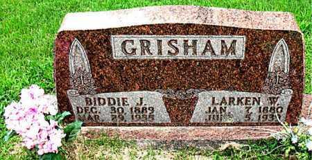 GRISHAM, BIDDIE J. - Boone County, Arkansas | BIDDIE J. GRISHAM - Arkansas Gravestone Photos