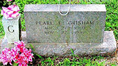 GRISHAM, PEARL E. - Boone County, Arkansas | PEARL E. GRISHAM - Arkansas Gravestone Photos