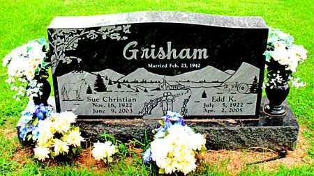GRISHAM, SUE - Boone County, Arkansas | SUE GRISHAM - Arkansas Gravestone Photos