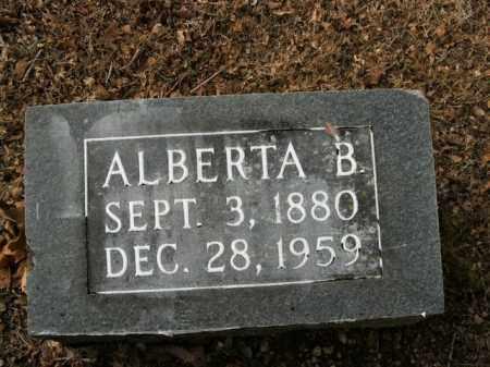 GROBLEBE, ALBERTA B. - Boone County, Arkansas | ALBERTA B. GROBLEBE - Arkansas Gravestone Photos