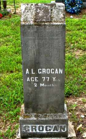 GROGAN, A.L. - Boone County, Arkansas | A.L. GROGAN - Arkansas Gravestone Photos
