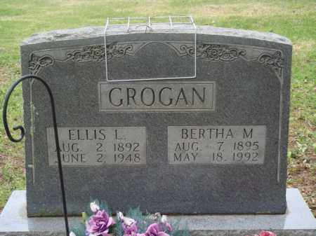 GROGAN, ELLIS L. - Boone County, Arkansas | ELLIS L. GROGAN - Arkansas Gravestone Photos