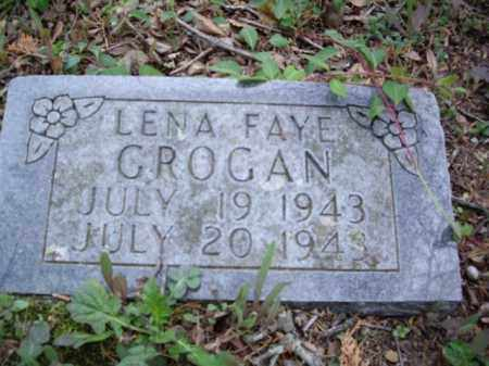 GROGAN, LENA FAYE - Boone County, Arkansas | LENA FAYE GROGAN - Arkansas Gravestone Photos