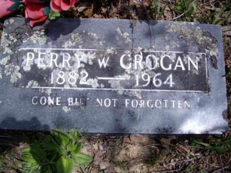 GROGAN, PERRY W. - Boone County, Arkansas | PERRY W. GROGAN - Arkansas Gravestone Photos