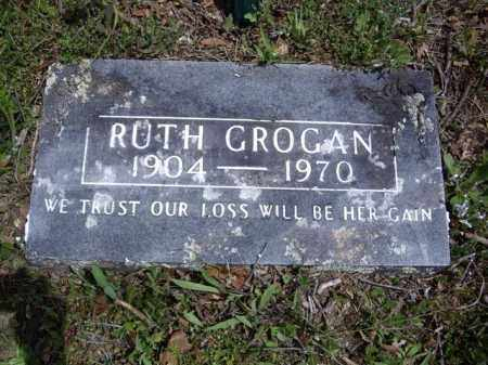 GROGAN, RUTH - Boone County, Arkansas | RUTH GROGAN - Arkansas Gravestone Photos