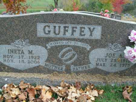 GUFFEY, JOE A. - Boone County, Arkansas | JOE A. GUFFEY - Arkansas Gravestone Photos