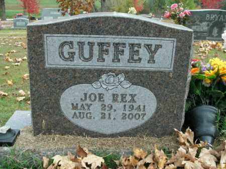 GUFFEY, JOE REX - Boone County, Arkansas | JOE REX GUFFEY - Arkansas Gravestone Photos