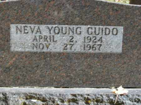 GUIDO, NEVA MARIE - Boone County, Arkansas | NEVA MARIE GUIDO - Arkansas Gravestone Photos