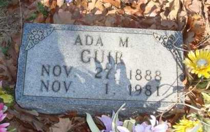 GUIR, ADA M. - Boone County, Arkansas | ADA M. GUIR - Arkansas Gravestone Photos
