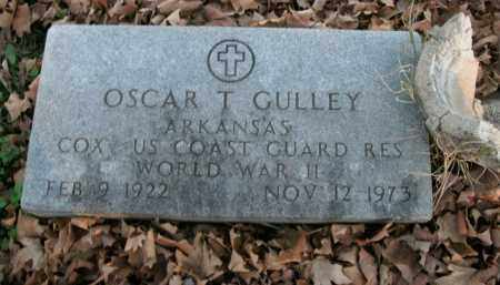 GULLEY  (VETERAN WWII), OSCAR T - Boone County, Arkansas | OSCAR T GULLEY  (VETERAN WWII) - Arkansas Gravestone Photos