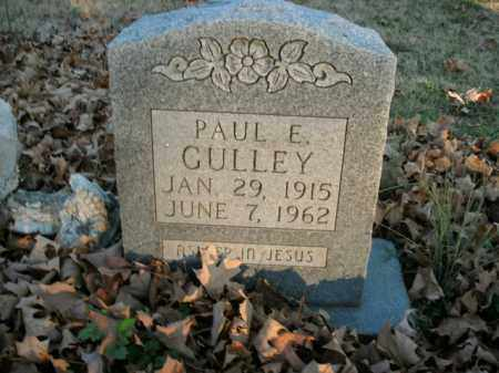 GULLEY, PAUL E. - Boone County, Arkansas | PAUL E. GULLEY - Arkansas Gravestone Photos