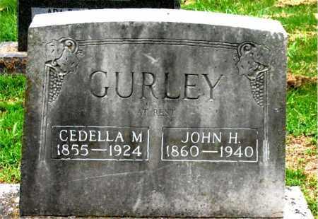 GURLEY, CEDELLA M. - Boone County, Arkansas | CEDELLA M. GURLEY - Arkansas Gravestone Photos