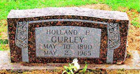 GURLEY, HOLLAND H. - Boone County, Arkansas | HOLLAND H. GURLEY - Arkansas Gravestone Photos