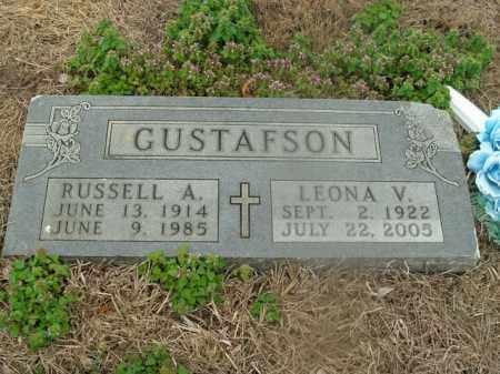 GUSTAFSON, LEONA V. - Boone County, Arkansas | LEONA V. GUSTAFSON - Arkansas Gravestone Photos