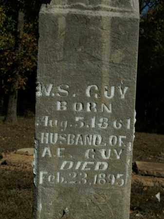 GUY, WILLIAM S.. - Boone County, Arkansas | WILLIAM S.. GUY - Arkansas Gravestone Photos