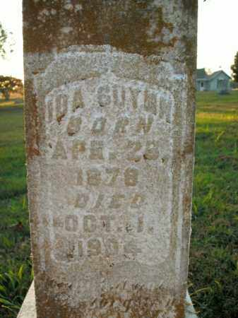 GUYNN, IDA - Boone County, Arkansas | IDA GUYNN - Arkansas Gravestone Photos