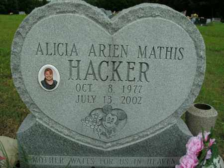 HACKER, ALICIA ARIEN - Boone County, Arkansas | ALICIA ARIEN HACKER - Arkansas Gravestone Photos