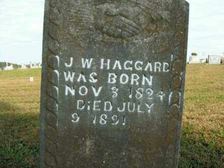 HAGGARD, J.W. - Boone County, Arkansas   J.W. HAGGARD - Arkansas Gravestone Photos
