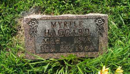 HAGGARD, MYRTLE - Boone County, Arkansas | MYRTLE HAGGARD - Arkansas Gravestone Photos