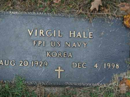 HALE  (VETERAN KOR), VIRGIL - Boone County, Arkansas | VIRGIL HALE  (VETERAN KOR) - Arkansas Gravestone Photos