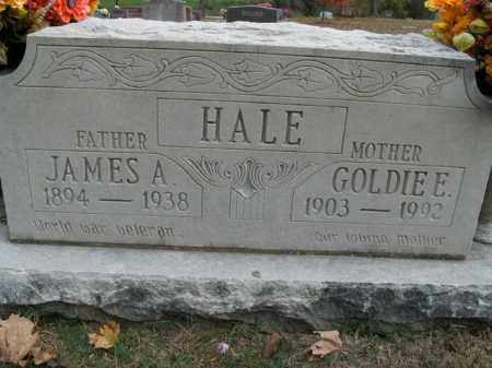 HALE  (VETERAN WWI), JAMES A - Boone County, Arkansas | JAMES A HALE  (VETERAN WWI) - Arkansas Gravestone Photos