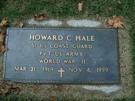 HALE  (VETERAN WWII), HOWARD C. - Boone County, Arkansas | HOWARD C. HALE  (VETERAN WWII) - Arkansas Gravestone Photos