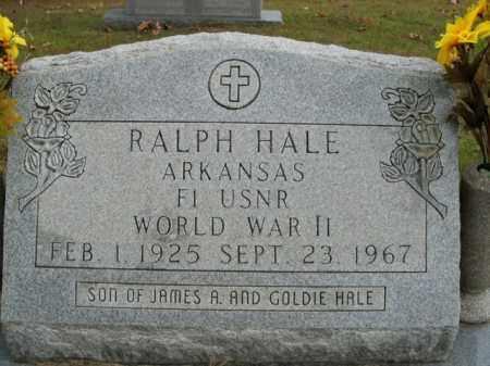 HALE  (VETERAN WWII), RALPH - Boone County, Arkansas | RALPH HALE  (VETERAN WWII) - Arkansas Gravestone Photos