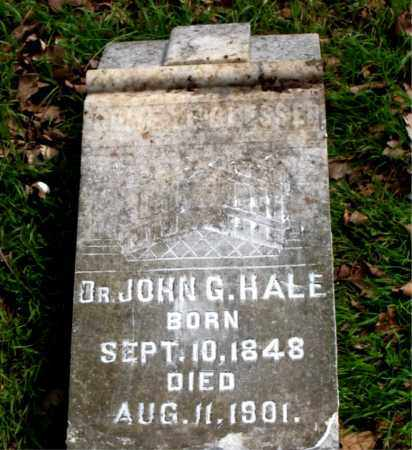HALE, JOHN G. - Boone County, Arkansas | JOHN G. HALE - Arkansas Gravestone Photos