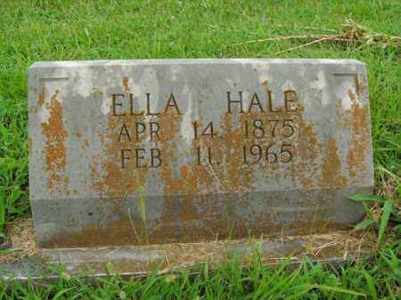 HALE, ELLA - Boone County, Arkansas | ELLA HALE - Arkansas Gravestone Photos