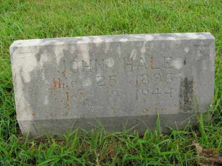 HALE, JOHN - Boone County, Arkansas | JOHN HALE - Arkansas Gravestone Photos