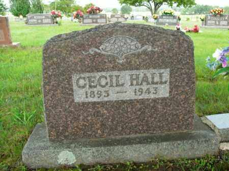 HALL, CECIL - Boone County, Arkansas | CECIL HALL - Arkansas Gravestone Photos
