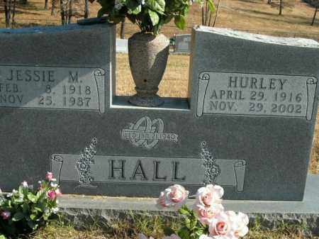 HALL, JESSIE M. - Boone County, Arkansas | JESSIE M. HALL - Arkansas Gravestone Photos