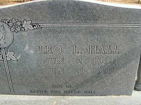 HALL, LEO L. - Boone County, Arkansas | LEO L. HALL - Arkansas Gravestone Photos