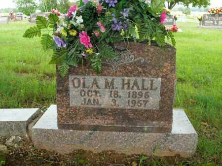 HALL, OLA M. - Boone County, Arkansas | OLA M. HALL - Arkansas Gravestone Photos