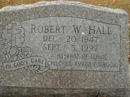 HALL, ROBERT W. - Boone County, Arkansas | ROBERT W. HALL - Arkansas Gravestone Photos