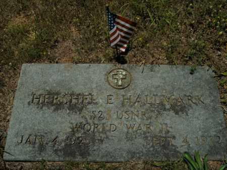 HALLMARK  (VETERAN WWII), HERSHEL E. - Boone County, Arkansas | HERSHEL E. HALLMARK  (VETERAN WWII) - Arkansas Gravestone Photos
