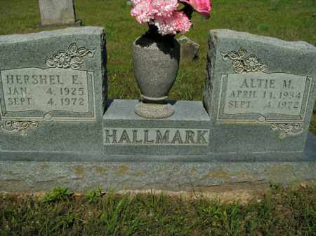 HALLMARK, ALTIE M. - Boone County, Arkansas | ALTIE M. HALLMARK - Arkansas Gravestone Photos