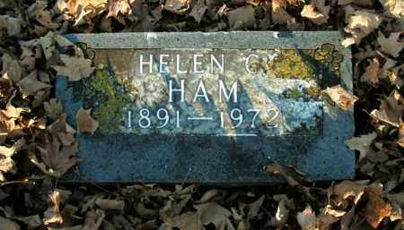 HAM, HELEN C. - Boone County, Arkansas | HELEN C. HAM - Arkansas Gravestone Photos