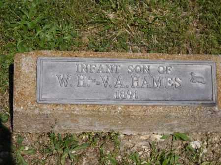 HAMES, INFANT SON - Boone County, Arkansas | INFANT SON HAMES - Arkansas Gravestone Photos