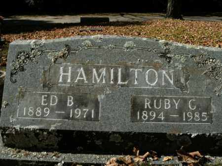 HAMILTON, RUBY C. - Boone County, Arkansas | RUBY C. HAMILTON - Arkansas Gravestone Photos