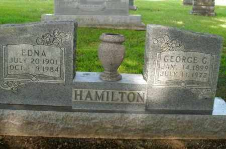HAMILTON, GEORGE G. - Boone County, Arkansas | GEORGE G. HAMILTON - Arkansas Gravestone Photos