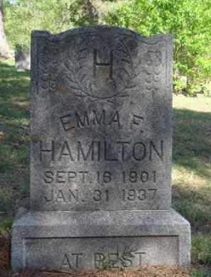 HAMILTON, EMMA F. - Boone County, Arkansas | EMMA F. HAMILTON - Arkansas Gravestone Photos