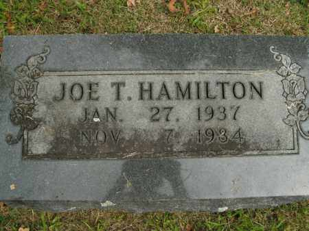 HAMILTON, JOE T. - Boone County, Arkansas | JOE T. HAMILTON - Arkansas Gravestone Photos