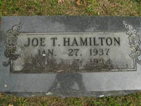 HAMILTON, JOE T. - Boone County, Arkansas | JOE T. HAMILTON - Arkansas Gravestone Photos