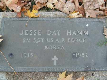 HAMM  (VETERAN KOR), JESSE DAY - Boone County, Arkansas | JESSE DAY HAMM  (VETERAN KOR) - Arkansas Gravestone Photos