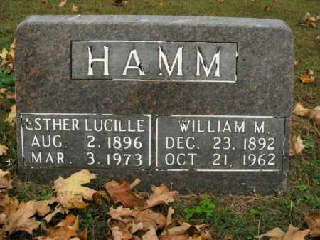 HAMM, ESTHER LUCILLE - Boone County, Arkansas | ESTHER LUCILLE HAMM - Arkansas Gravestone Photos